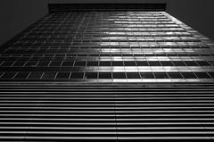 Repetition (BartvanDam) Tags: repetition ricohgr blackwhite blackandwhite architecture bartvandam building grey reflections boslaan thehague thenetherlands