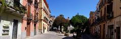 Quartiere Villanova - Cagliari (collage42 Pia-Vittoria//) Tags: sardegna cagliari viasandomenico villanova street panoramica calle barrio
