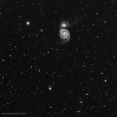 20150418 M51 L9x600s-20° TSA102-F800 (pascal Girard Astro) Tags: astronomie galaxie m51