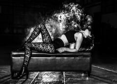 Claire is Back (micadew) Tags: micadew interesting interestingmicadew intense smoke vaping vape nw blackwhite blackandwhite beautiful beauty beautyshoots sexy hot hottie gorgeous erotic sensual vapesmoke