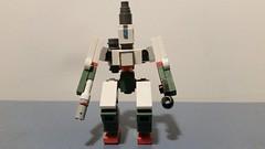 Lego Bastion Front (Libra Customs) Tags: lego bastion blizzard overwatch custom