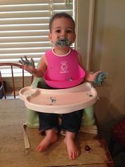 Benjamin Had Some Cake (Rachie Roo) Tags: cake mess ben benjamin