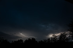 (Adrian Chiru) Tags: light storm rain clouds romania lightning scare thunder calarasi