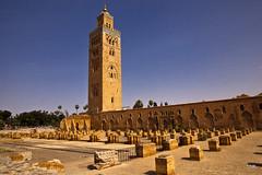 Marrakech-Koutoubia Minaret (doveoggi) Tags: africa city minaret morocco marrakech 4643