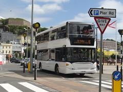 Libertybus 607 (Coco the Jerzee Busman) Tags: uk islands coach pointer nimbus ct solo jersey plus alexander dennis sr dart channel caetano enviro optare plaxton libertybus
