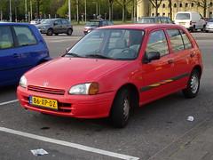 1996 Toyota Starlet (harry_nl) Tags: netherlands utrecht nederland toyota starlet 2015 toyotastarlet sidecode6 86xpdz