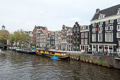 Houses and Houseboats - Singel Canal (BlueVoter - thanks for 2.2M views) Tags: amsterdam canal huis singel jordaan canalhouse