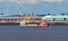 Amazone (NL) (Kay Bea Chisholm) Tags: ship water promenade egremont liverpool rivermersey netherlands suction dredger amazone