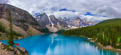The Great Moraine (Ryan Moyer) Tags: banff banffnationalpark canada alberta mountains lakes blue alpine landscape reflection