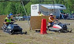 drag003 (minitmoog) Tags: dragrace grass dragracing sleds snowmobiles skoter veteran vintage lycksele