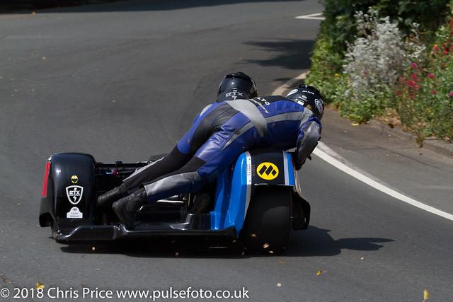 Sidecar practice, Isle of Man TT 8th June 2016