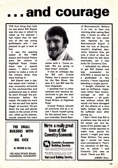 """Coventry City """"Sky Blues"""" vs England 1966 World Cup XI - Bill Glazier Testimonial - 1974 - Page 17 (The Sky Strikers) Tags: coventry city sky blues england 1966 world cup xi bill glazier testimonial our official souvenir programme highfield road 10p"""