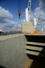 Chipolbrok Pacific (DST_8800) (larry_antwerp) Tags: chipolbrok chipolbrokpacific 9710177 breakbulk liebherr crane abes terminal antwerp antwerpen       port        belgium belgi          schip ship vessel