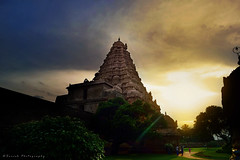 Gangaikonda Cholapuram |   (Suresh Photography) Tags: travel sunset sky india building tower beautiful architecture clouds landscape temple evening nikon king god outdoor scenic historic divine chennai suresh tamilnadu chola cholan gangaikondacholapuram tanjavur d5300 sureshphotography sureshcprog