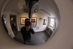 Warhol Exhibition. (Patadphotos) Tags: fisheye warhol moco museum amsterdam campbells soup cans