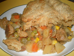 Almost All-American Seitan Potpie (dimsimkitty) Tags: veganomicon