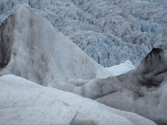 IMG_7553 (NapoleonIsNotDead) Tags: sunset summer sun white lake ice water sunshine clouds landscape evening iceland cloudy south lagoon iceberg jkulsrln glacial