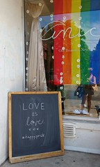 Love and Serenity Please (Georgie_grrl) Tags: toronto ontario love sign peace serenity storefront kensingtonmarket chalkboard anice loveislove