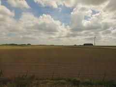 Belgian countryside (l4ts) Tags: train europe belgium eurostar farmland lille mobilephonecamera sonyxperiaz5 182mph