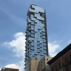 I want this flat. Yes. The only exception on the last floor exactly :-) #architecture #Newyork