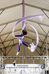 Anna Zhuk (Jul Chitay) Tags: aerial aerialist sport dance flexibility aerialarts arts high aerials woman girl