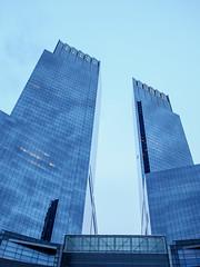 TWC (deepaqua) Tags: nyc skyscraper bluehour columbuscircle timewarnercenter