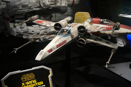 """X-Wing Fighter in the Star Wars Launch Bay • <a style=""""font-size:0.8em;"""" href=""""http://www.flickr.com/photos/28558260@N04/28339022374/"""" target=""""_blank"""">View on Flickr</a>"""