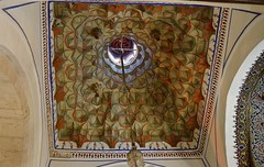 A Ceiling In  Mevlana Museum In Konya (Sandra Lee Hall) Tags: ceiling tiles art colorful historical architectural worship whirling dervishes religion religious mevlana museum mausoleum jalalaldinmuhammedrumi persian sufi mystic lodge mevlevi konya turkey