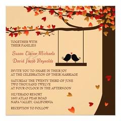 (Love Birds Falling Hearts Oak Tree Wedding Invite) #Affordable, #AutumnWedding, #Brown, #Burgundy, #Contemporary, #Date, #Elegant, #Engagement, #Engagements, #FallWedding, #Falling, #Heart, #Leaf, #Leaves, #Love, #LoveBirds, #Matching, #Modern, #Natural, (CustomWeddingInvitations) Tags: love birds falling hearts oak tree wedding invite affordable autumnwedding brown burgundy contemporary date elegant engagement engagements fallwedding heart leaf leaves lovebirds matching modern natural nature neutral new oaktree orange outdoor outside popular red romantic save sophisticated stylish tan trendy weddings is available custom unique invitations store httpcustomweddinginvitationsringscakegownsanniversaryreceptionflowersgiftdressesshoesclothingaccessoriesinvitationsbinauralbeatsbrainwaveentrainmentcomlovebirdsfallingheartsoaktreeweddinginvite weddinginvitation weddinginvitations