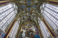 20160725_chaalis_abbey_primatice_chapel_9999w (isogood) Tags: chaalis chapel primatice frescoes stainedglass renaissance barroco france church religion christian gothic cathedral light abbey