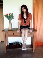 2016.06-55 (SamyOliver) Tags: samanthaoliver samantha samyoliver samycd samy nature redhead heels genderfluid highheels oliver transformista tranny stiletto transvestite crossdress brazil crossdresser
