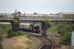 4965 Rood Ashton Hall approaching Bordesley with The Shakespeare Express (_1_2_) Tags: 4965 rood ashton hall passing bordesley with the shakespeare express steam train
