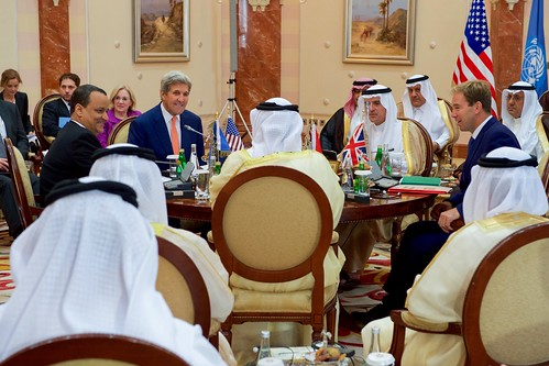 Secretary Kerry Participates in Meeting Focused on Yemen