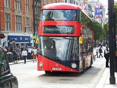 Transported by Design (03/07/2016) (Tobytrainspotting13) Tags: tobytrainspotting13 transported by design festival sunday 3rd july 2016 oxford street london new routemaster lt342 ltz 1342 arriva route 137