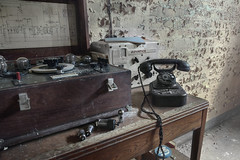 Codebreakers (andre govia.) Tags: andregovia decay decayed derelict down dead decaying decayedbuildings code breakers telephone