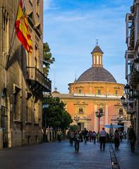 View towards Plaza De La Virgin ( Valencia - Spain) (Canon PowerShot G1X ) (1 of 1) (markdbaynham) Tags: valencia valencian spain espana espanol city urban metropolis es canon powershot g1x canonites fixed zoom