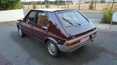 Fiat Ritmo Targa Oro 75 CL 1981 (ahellmann) Tags: fiat ritmo targa oro 75 classic car youngtimer oldtimer classiche purble bordeaux red 179 strada cl 1981