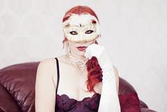 Masquerade (PaulineWirenborg) Tags: portrait mask maqsuerade