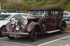 Rolls Royce (fannyfadams) Tags: uk car vintage automobile rollsroyce british motor travelodge luxury anglesey northwales holyhead a55