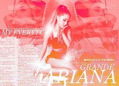 BLEND Ariana Grande (Marcello Gusmo) Tags: art love work design grande ariana blend butera