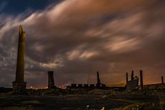 Tormenta sobre la fundicin de Pearroya Pueblonuevo (mrubisan) Tags: night la nikon 1935mm nocturna thunderstorm voightlander crdoba alto fundicin d610 pueblonuevo pearroya guadiato