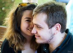 Jordan & Annabelle (Lalykse) Tags: portrait woman man love girl smile couple annabelle femme jordan amour 1855 fille sourire youngwoman youngman homme nikond3200 jeunehomme jeunefemme