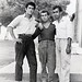 Ali with friends, Lavrion, Greece 1960