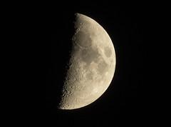 premier quartier de lune (laurent gayte) Tags: moon lune 300mmf4 laurentgayte