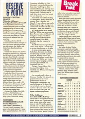 Leeds United vs Middlesbrough - 1993 - Page 37 (The Sky Strikers) Tags: road magazine one official united leeds admiral middlesbrough premier pound league fa fifty elland matchday