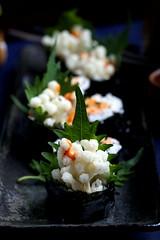 IMG_0016 (Olives for Dinner) Tags: sushi mushrooms vegan sushiroll enoki enokimushroom vegansushi