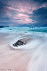 Rushing Sea (renatonovi1) Tags: sea rush beach sunrise ocean storm rock monavale sydney nsw australia seascape landscape water