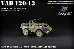 VAB T20-13 Ready kit (Model-Miniature / Military-Photo-Report) Tags: scale painted models vab mounted ready kit saad 13 diorama militaire 172 vitrine 120mm maquette transparente chelle t20 talha mortier auf1 t2013 qaswa alqaswa