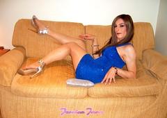 Sofa Pose (jessicajane9) Tags: tv lgbt cd tgirl trans crossdressing m2f feminization boy2girl tg transgender transvestite femboi