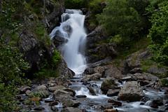 Wodospad w pobliżu Arnisal